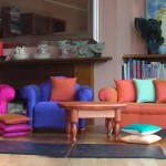 Small is Beautiful - Miniature Comfy Chairs and Table